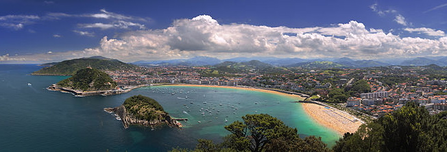 SAN SEBASTIAN die Perle des Atlantik - Pearl of the Atlantic Ocean