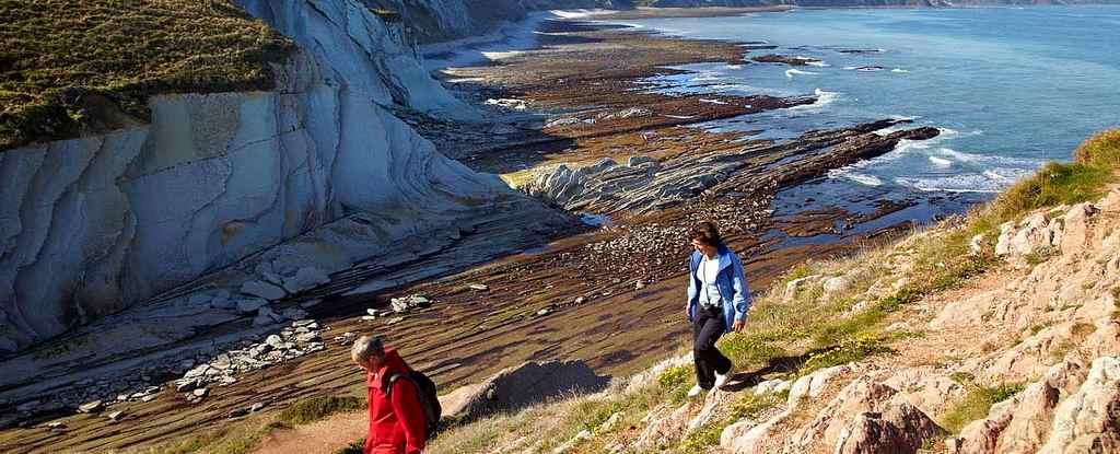 Die baskische Küste- Flysch im Geopark